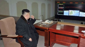 Kim Jong Un just chillin'