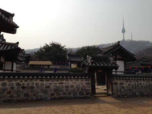 Traditional village meets hi-tech Seoul N-Tower
