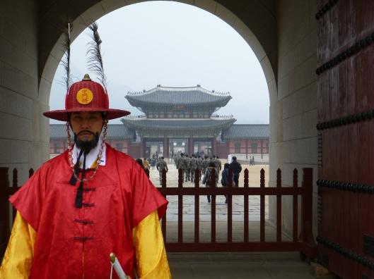 Gyeongbok(gung) Palace Guard