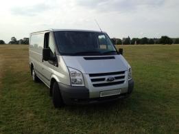 Old van front